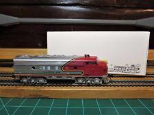 """Life-Like 10504 HO EMD F7A Powered Locomotive """"WAR BONNET ATSF"""" with KD's"""