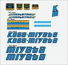 KOGA MIYATA GRANWINNER FRAME DECAL SET 1985