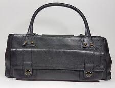 RI2K black leather medium handbag 33cm x 15cm super condition