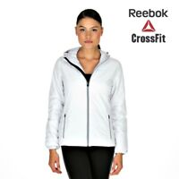 Reebok Womens DSO Quilted Primaloft White Jacket Free Tracked Post