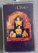 LIVE - Mental Jewelry 1991 (Cassette) Radioactive Records TESTED EX Condition