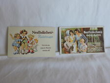 Two German Vintage Needle Books by Nesthakchen's with Needles.