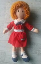 "Little Orphan Annie knickerbocker Doll 16""  1982 The Musical Redhead Red Dress"
