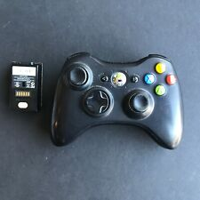 Microsoft Xbox 360 Controller W/ Rechargeable Battery Pack - Tested/Working # 61