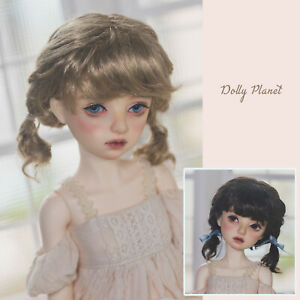 "QQ-96 *Poppy* BJD Doll  Wig {Dolly Planet} 1/8 5-6"";1/6 6-7"" ;1/4 7-8"";1/3 8-9"""