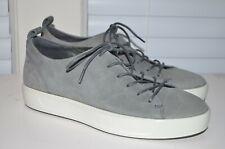 ECCO Mens Soft 8 Tie Fashion Sneaker US 5 EU 39 Moon Rock Tan Leather Lace