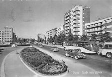1861) PAVIA, VIALE DELLA LIBERTA'. AUTOMOBILI, AUTOBUS, AGIP. VIAGGIATA NEL 1960