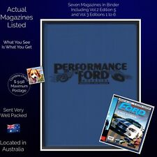 Performance Ford Magazines Australia And New Zealand 7 Issues In Official Binder