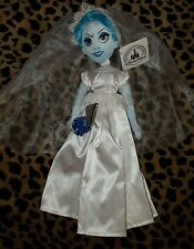 """Disney Parks Haunted Mansion Ghost Bride Constance 14"""" Doll Plush New with Tags"""