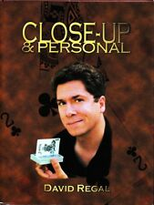 Close Up & Personal by David Regal Magic Book-1st Edition-Coins Cards-Close-Up