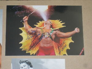 RICKY THE DRAGON STEAMBOAT Signed 4x6 Photo WRESTLING WWE WWF AUTOGRAPH 1A