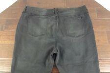 NEW Melissa McCarthy Seven 7 Jeans Womens Plus Size 28 W Skinny Black Distressed