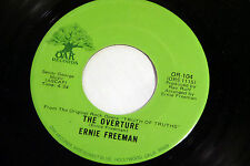 Ernie Freeman: The Overture (Truth of Truths)  / The Overture [Unplayed Copy]