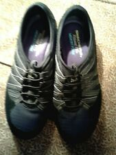 SKECHERS ~RELAXED FIT ~MEMORY FOAM SHOES ~BLK ~6.5