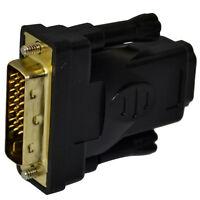 DVI Male to HDMI Female Jack M/F Adapter Converter Plug HD PC HDTV PS3 DVD 1080P