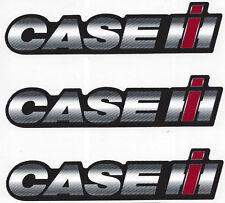 Case International IH Decal Sticker Sheet of 3 New Vinyl