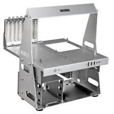 Case in argento alluminio microATX per prodotti informatici