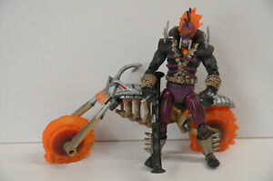 80 ) Marvel Legends - 18cm Figur  - Ghost Rider Vengeance mit Motorrad