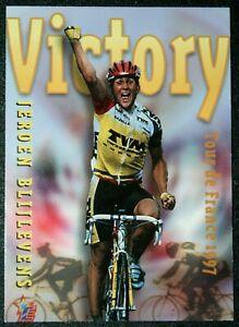 Tour de France  Cycling  Team TVM  Jeroen Blijlevens  1990's Photo Card