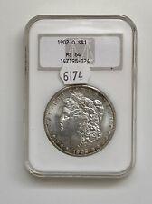 1902 O $1 Morgan Silver Dollar MS64 NGC