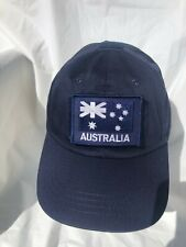 Navy Blue Tactical Operator Cap with Navy Blue ANF Patch
