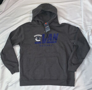 Women's Vancouver Canucks Fanatics Authentic Pro Collection Prime Hoodie NWT XL