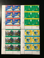 Gb Qeii Sg 1629-32 Environment Protection Painting Cylinder blocks 6 Stamps Mnh
