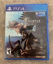 Capcom Monster Hunter World PS4 Video Game