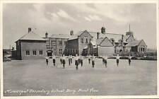 Bury. Municiopal Secondary School. Front View by Marshall Keene & Co.