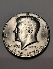 1776-1976 John F Kennedy Bicentennial 'D' Half Dollar