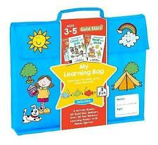 Gold Stars My Learning Bag Ages 3-5:Learn How to Read, Write, Count and Add,New