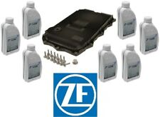 ZF 8HP A/T Service Kit Oil Pan & Filter Kit Gasket Plugs 7L Fluid ATF For BMW