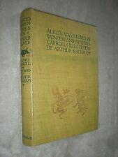 ALICE'S ADVENTURES IN WONDERLAND. ARTHUR RACKHAM 1st EDITION 1907. SUPERIOR COPY