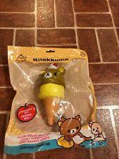 San-X Rilakkuma Teddy Bear Ice Cream Squishy Scented Toy NEW FREE SHIPPING