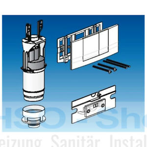 Friatec WC Modernisierungsset FRIABLOC F100 F102 2 Mengen Umbauset Betätigung