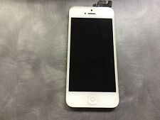 Genuine iPhone 5 LCD Touch Screen Digitizer with Camera & Home Button - White C