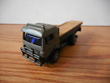 HIGH SPEED 1/64 BENZ? FLATBED LUMBER CUSTOM? TRUCK FARM CONSTRUCTION TOY