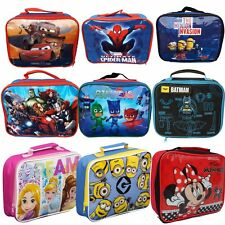 Childrens Insulated Lunch Pack Box Bag Kids Boys Girls School Food Picnic  Box e27af0ca61a98