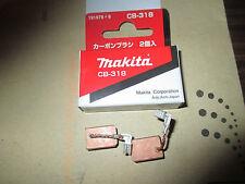 MAKITA CB318 CARBON BRUSH BRUSHES 191978-9 FOR 9564 9565 9565CVL GD0810C