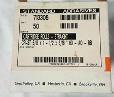 """100 Each 3M//SA 1//4/""""x1/""""x1//8/"""" 320 Grit 707434 Cartridge Roll 33812"""