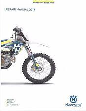 Husqvarna workshop service manual 2017 FE 450 & FE 501