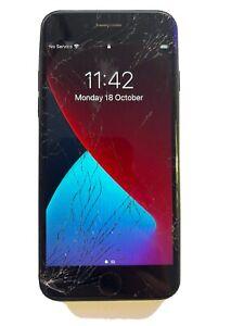 Apple iPhone 7 - 128GB - Black (EE) A1778 CRACKED / BROKEN SCREEN