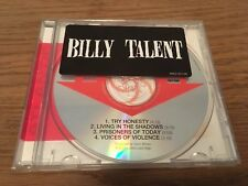 Billy Talent - Billy Talent - Debut Album Rare Promo EP Atlantic ‎– PRCD301199