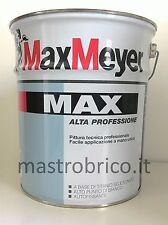 """Idropittura LAVABILE MASCHERANTE PROFESSIONALE opaca """"MAX""""  - 5 Lt MAX MAYER"""