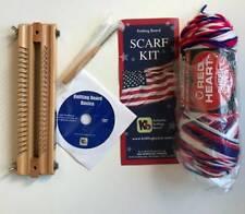 Knitting Board Loom & Scarf Kit 44 Pegs Knit Hook