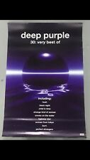 DEEP PURPLE VERY BEST OF RECORD SHOP PROMOTIONAL POSTER