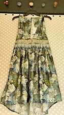 NWT Free People Green Island dress size large
