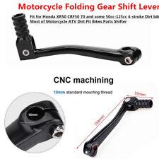 Black Motorcycle Folding Gear Shift Lever CNC Aluminum for ATV Dirt Pit Bikes