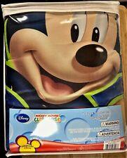 Disney Mickey Mouse Clubhouse Zero Gravity Toddler 4 Piece Bedding Set – New