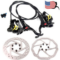 MTB Bike Hydraulic Disc Brake 140/160/180/203mm 6 Bolts Rotor Fit SHIMANO/SRAM